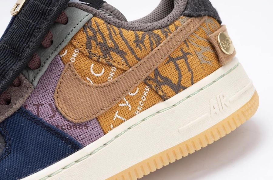 Travis Scott x Nike Air Force 1 Low | Release and Raffle