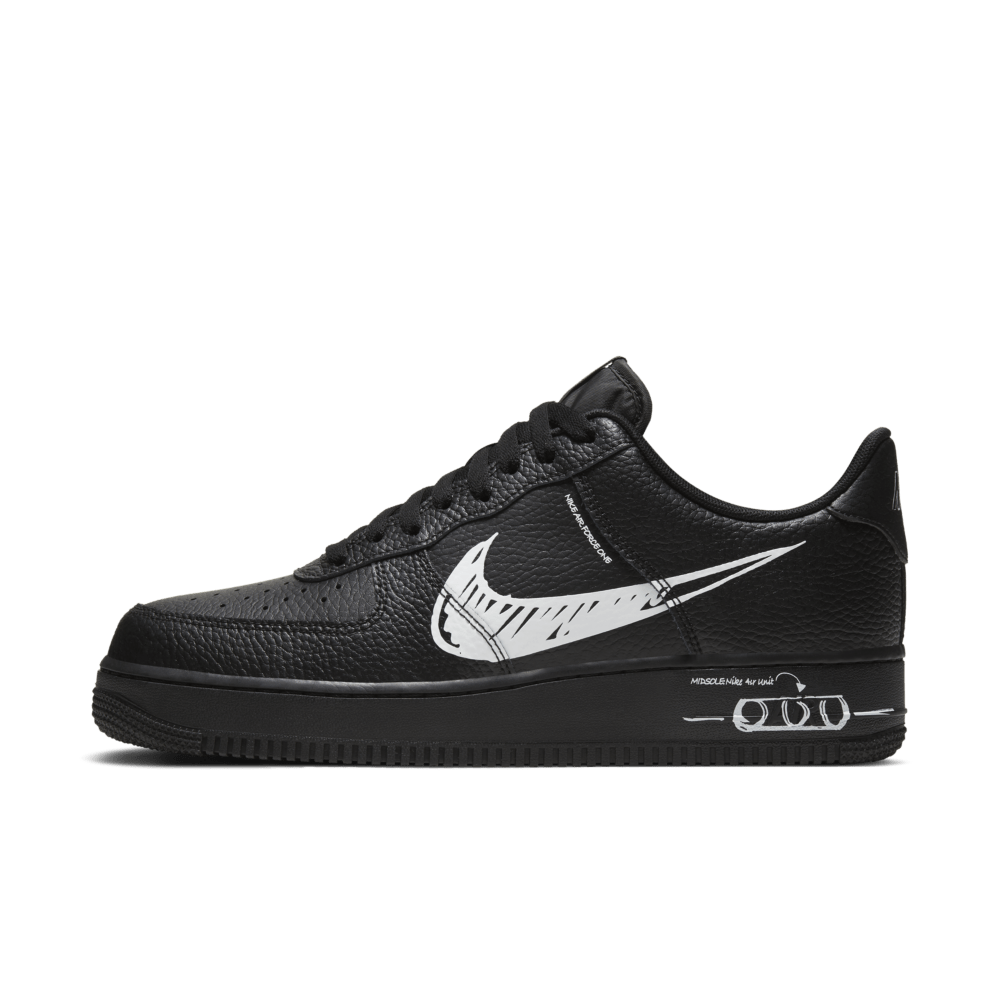 Nike Air Force 1 Sketch Black snkrempire Release Stores