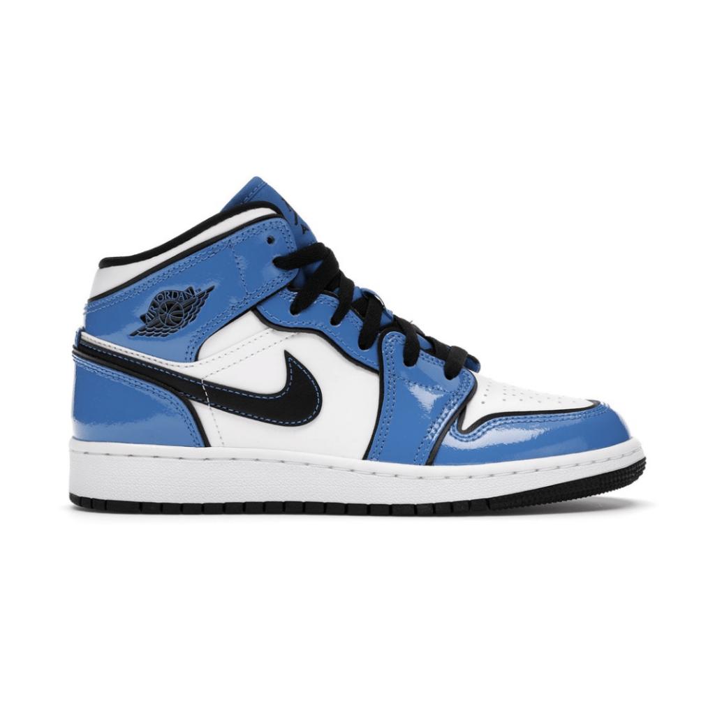 """Nike Air Jordan 1 Mid """"Signal Blue"""""""