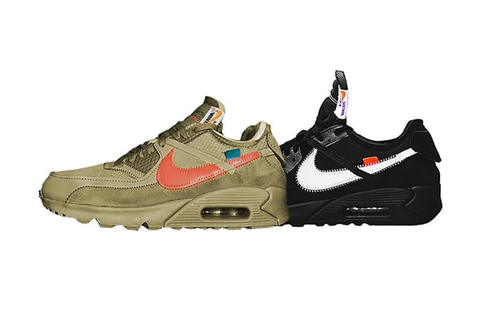 low priced bf85e aea95 Off-White x Nike Air Max 90 RELEASE INFO AND RAFFLE LIST