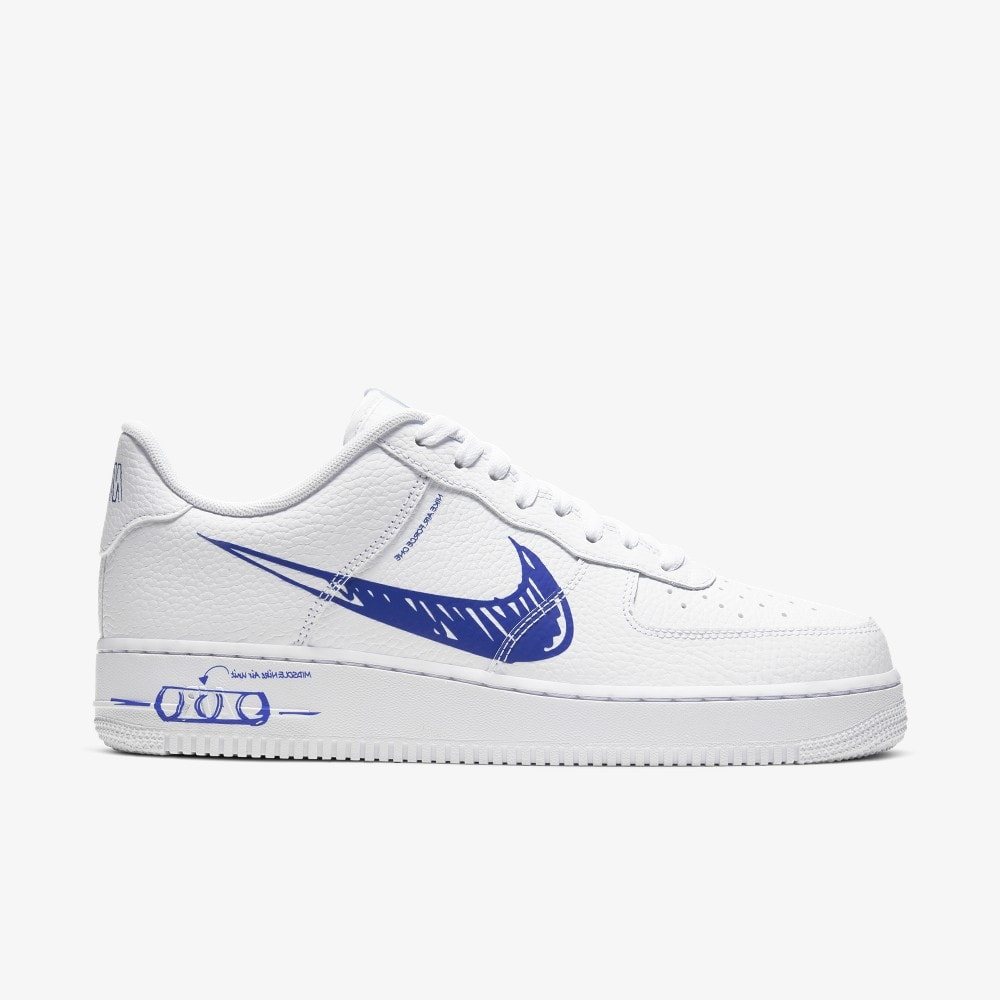 Nike Air Force 1 Sketch Blue