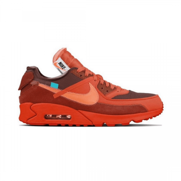 OFF-WHITE X NIKE AIR MAX 90 'UNIVERSITY RED'